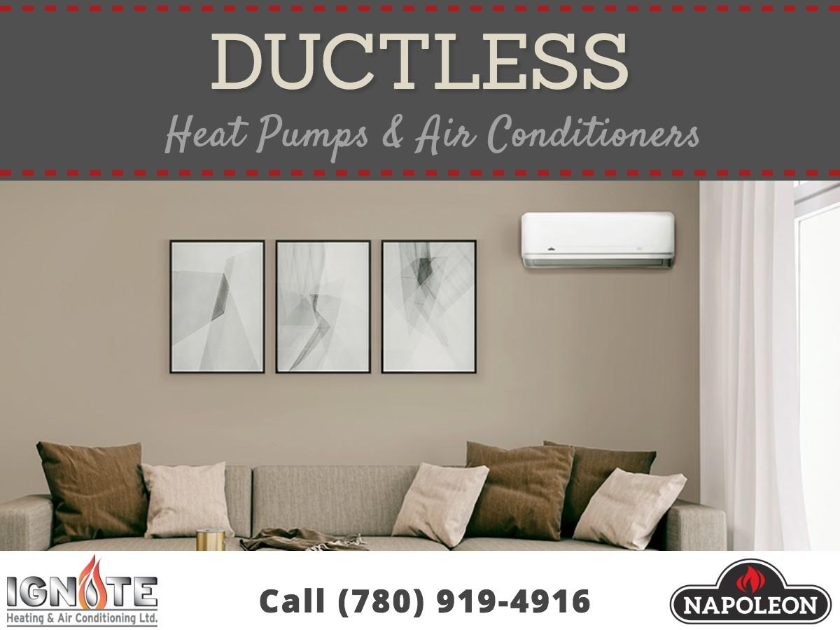 Ductless Heat Pumps and Air Conditioners